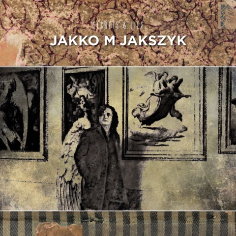 Artwork by Sam for Jakko M Jakszyk's Secrets and Lies album- design by Phil Smee