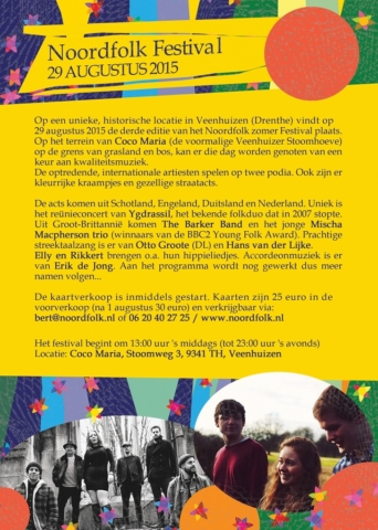 Noordfolk Flyer - side 2