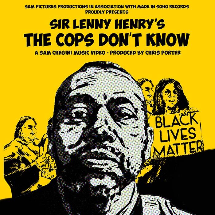 پوستر پلیس ها نمی دانند لنی هنری