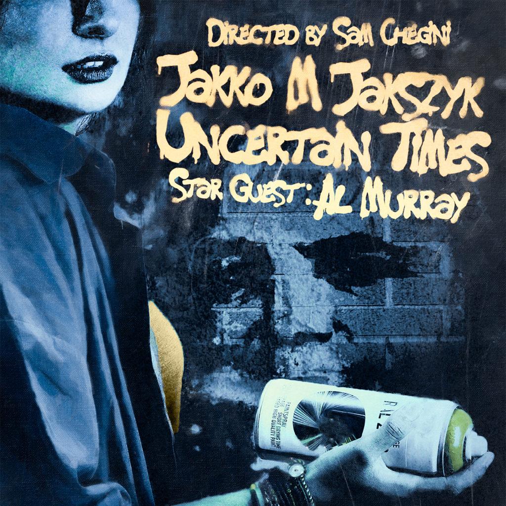 Jakko M Jakszyk Uncertain Times starring Al Murray