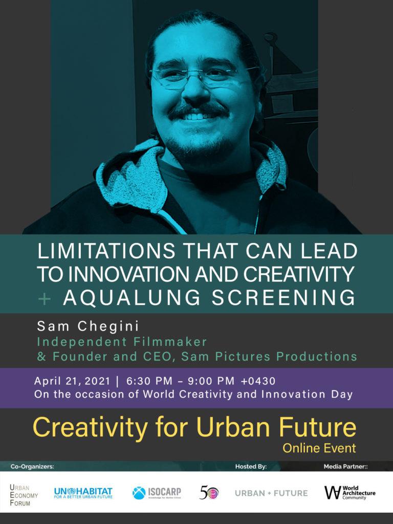 Creativity for Urban Future Sam Chegini